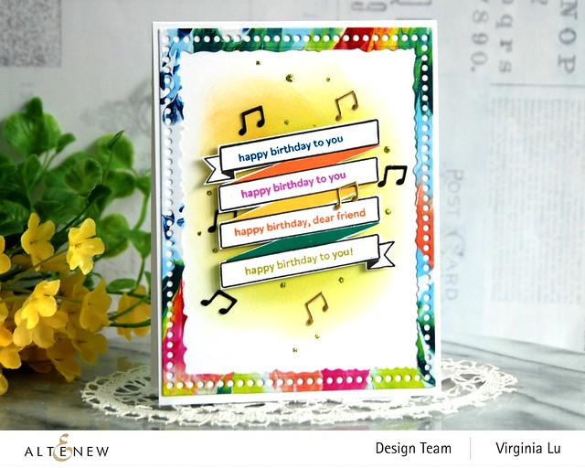 Altenew-MD Birthday Banner-Mix & Match Frame Die