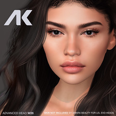 NEW Female  AKERUKA ADV W26 Head PROMO