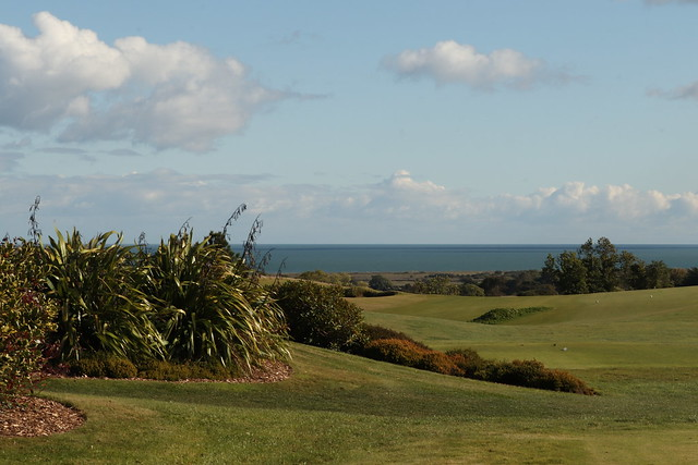 View of The Irish Sea From The Druids Glen County Wicklow