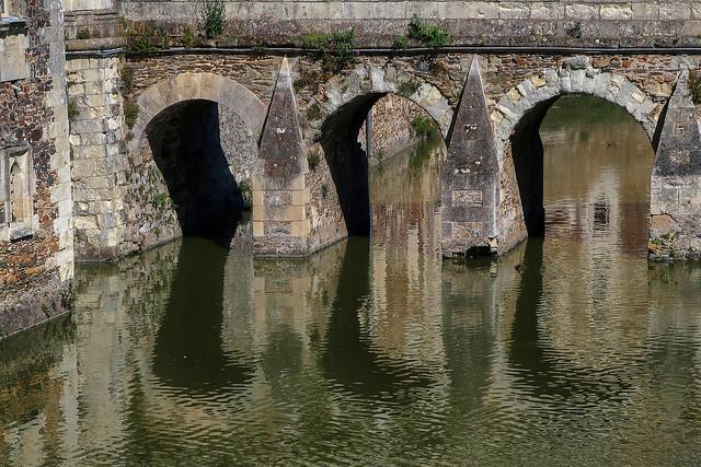 Reflet au château de Serrant