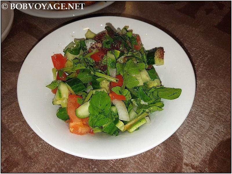 סלט ירקות ב- אלקלחה יפו (Al kalha jaffa)