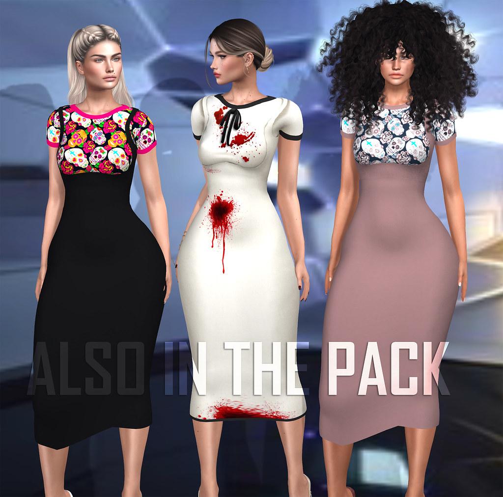 EXTRA colors dress Yasmin