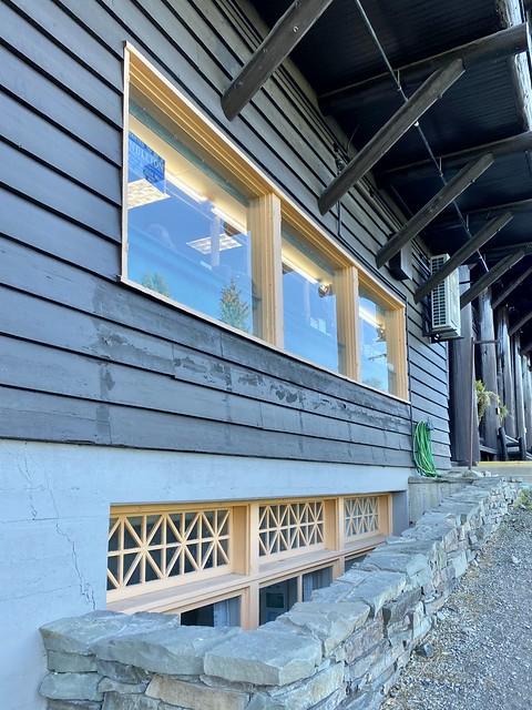 Windows, Glacier Park Lodge, East Glacier, MT