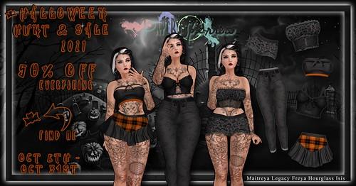 Halloween XXI Hunt & Sale