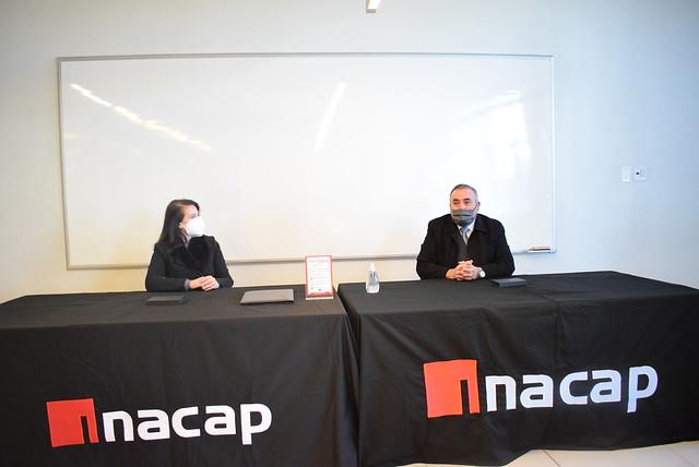 Convenio Alternancia INACAP y CEST