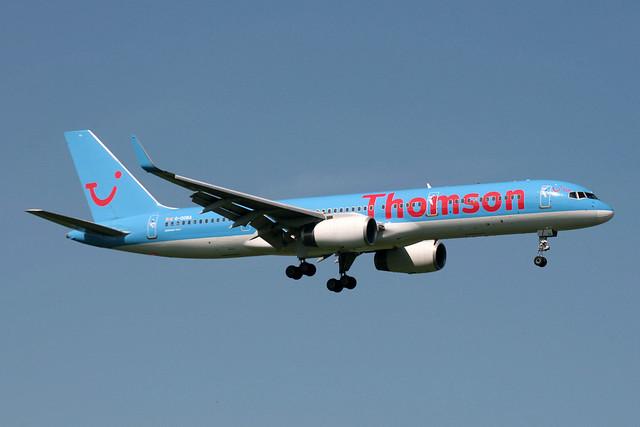 G-OOBA Boeing B.757-28A Thomson Airways