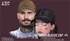 [ Versov // ]  OXFORDOV Classic CAP available at TMD !