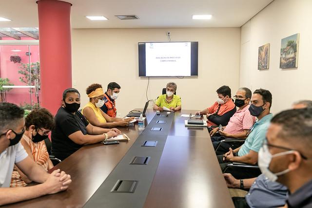 Reunião sobre situação do Campo Ipiranga - 05/10/2021