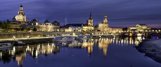 Dresden...blue hour...