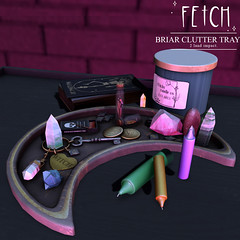 [Fetch] Briar Clutter Tray @ Satan Inc.