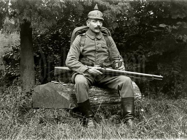 Landsturmmann, 1. bayer. Landsturm Infanterie Bataillon 'München' (I. B. 1)