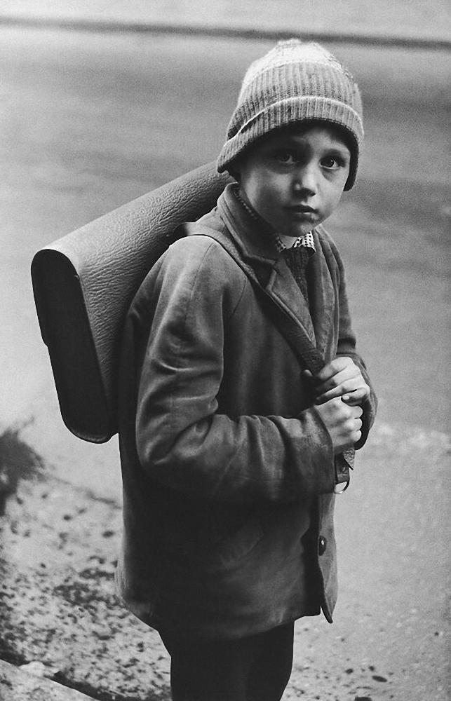 1966. Вильнюс. Мальчик с рюкзаком