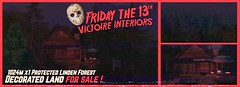 """🎃 """"Friday the 13th Special"""" - 1024m Decorated x1 protected forest land FOR SALE by Victoire Interiors"""
