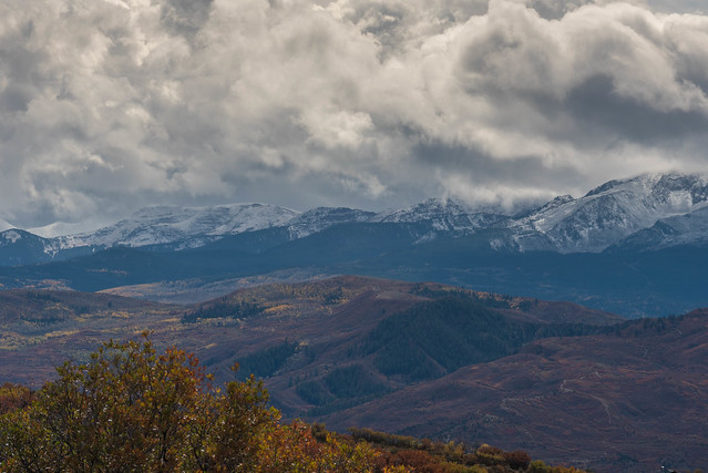 First Snow on the peaks