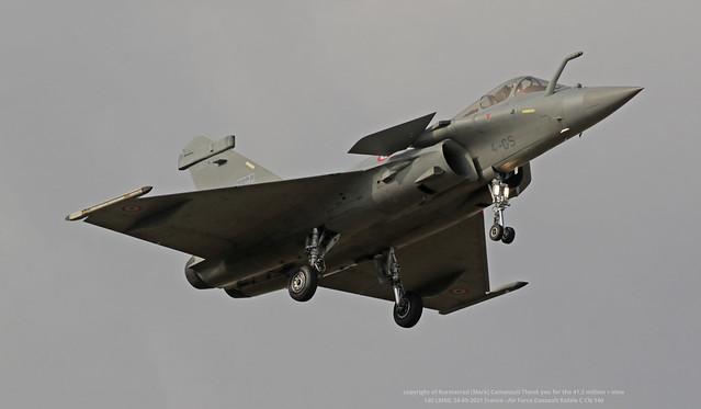 140 LMML 24-09-2021 France - Air Force Dassault Rafale C CN 140