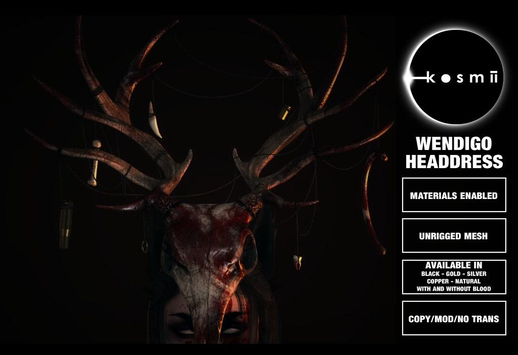 kosmii :: Wendigo Headdress