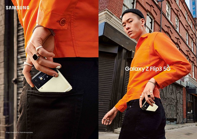 Samsung Galaxy Z Flip3 5G: Serving Iconic Looks, Starting With You