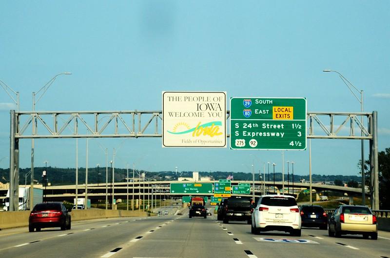 I-80 Iowa Welcome Sign (1)