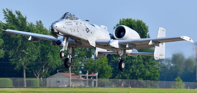 Fairchild Republic A-10C Thunderbolt II also called the Warthog USAF 81-0980