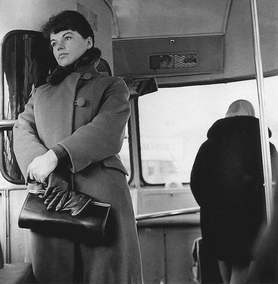 1966. Вильнюс. В автобусе