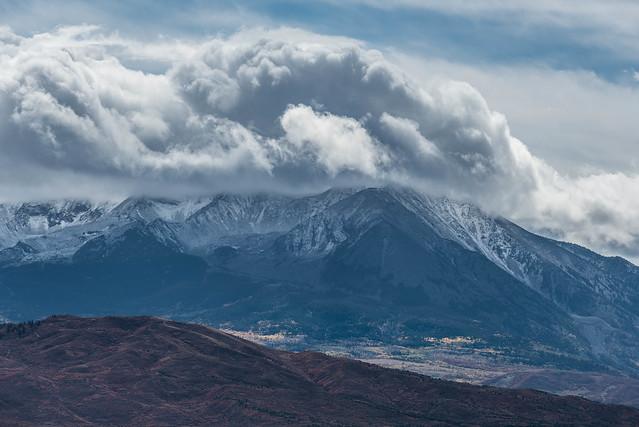 Mount Sopris First snow