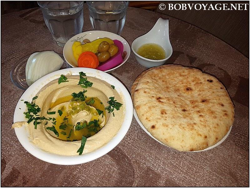 חומוס ביירותי ב- אלקלחה יפו (Al kalha jaffa)