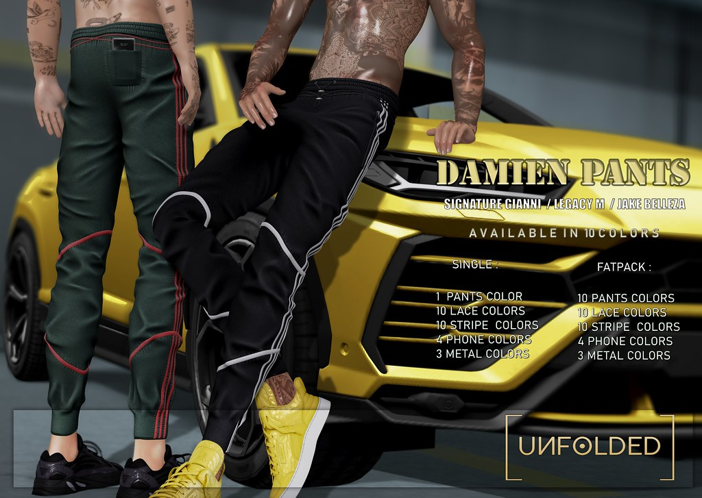 UNFOLDED x Damien Pants