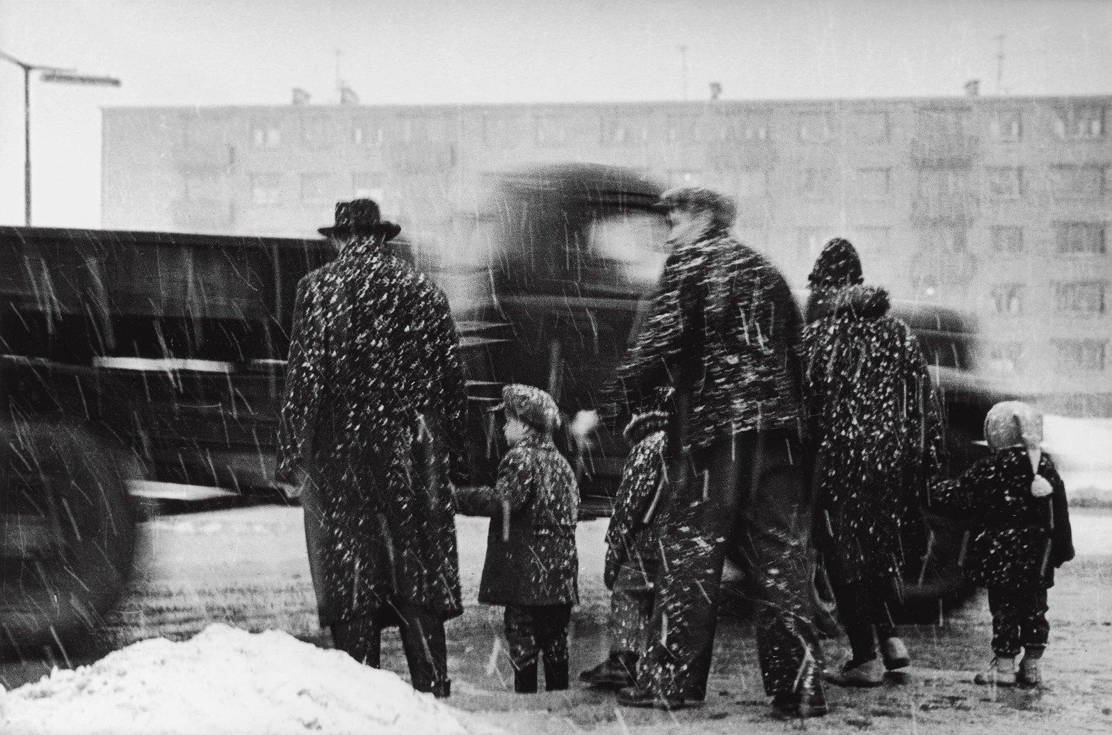 1965. Снег. Ладзинайский район