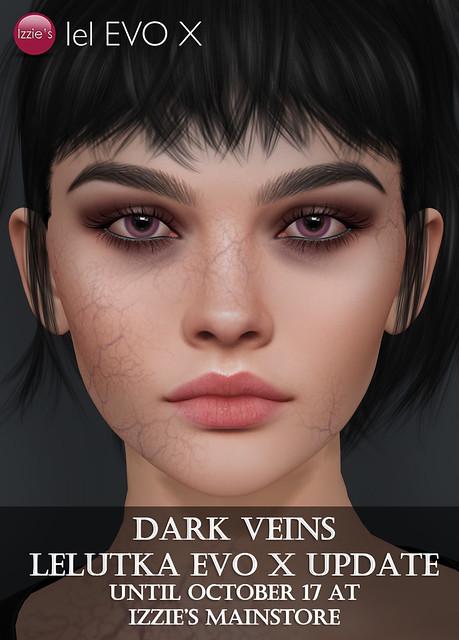 Free Dark Veins Update (LeLutka Evo X)
