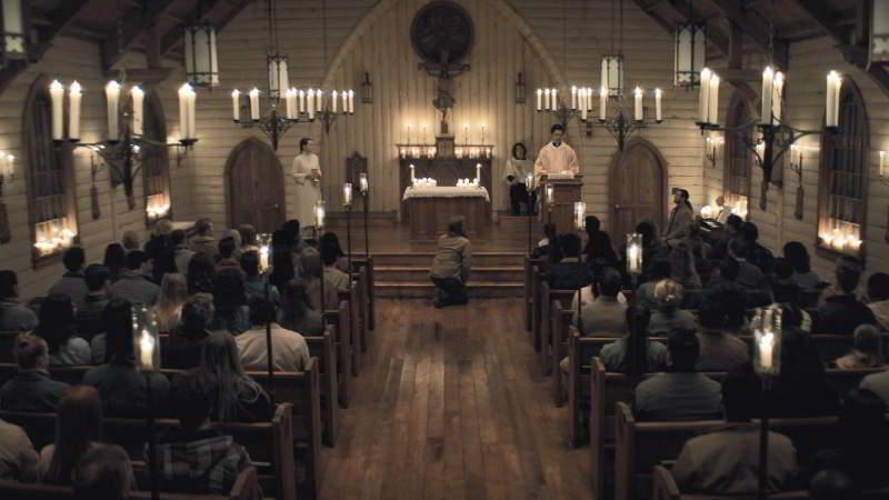 Midnight Mass church
