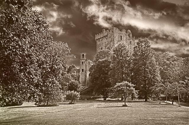 Blarney Castle Bw