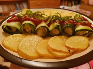 No-Bake Zucchini Manicotti