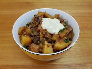 Smoky Shroom Sausage & Red Potato Goulash
