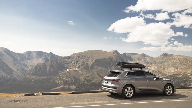 '19 Audi E-tron   Rocky Mountain National Park