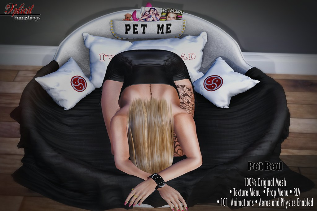 - Xplicit Furnishings - NEW RELEASE - Pet Bed