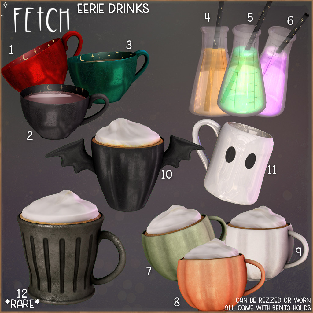 [Fetch] Eerie Drinks @ The Arcade!