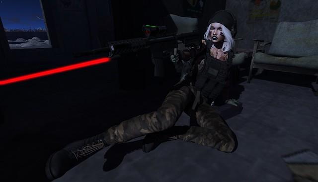Bad Ass Combat Girl...