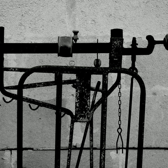 Antiche misure. Ancient measurements B&W