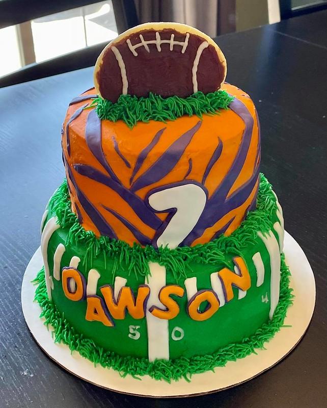Cake by Little Mitten Bakery
