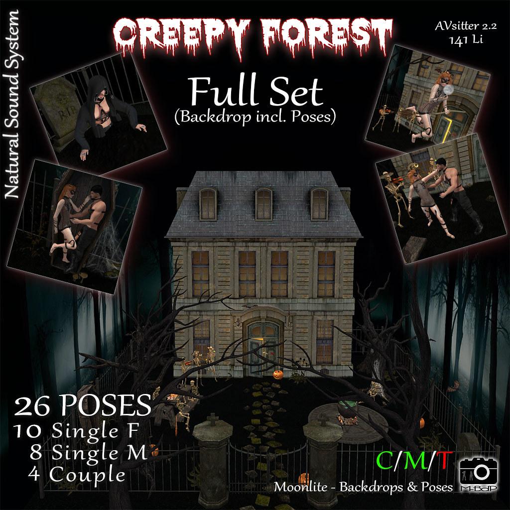 Creepy Forest – Full Set