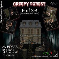 Creepy Forest - Full Set