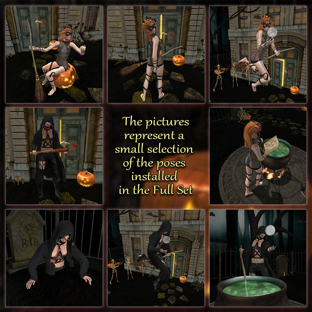Creepy Forest – Poses 1