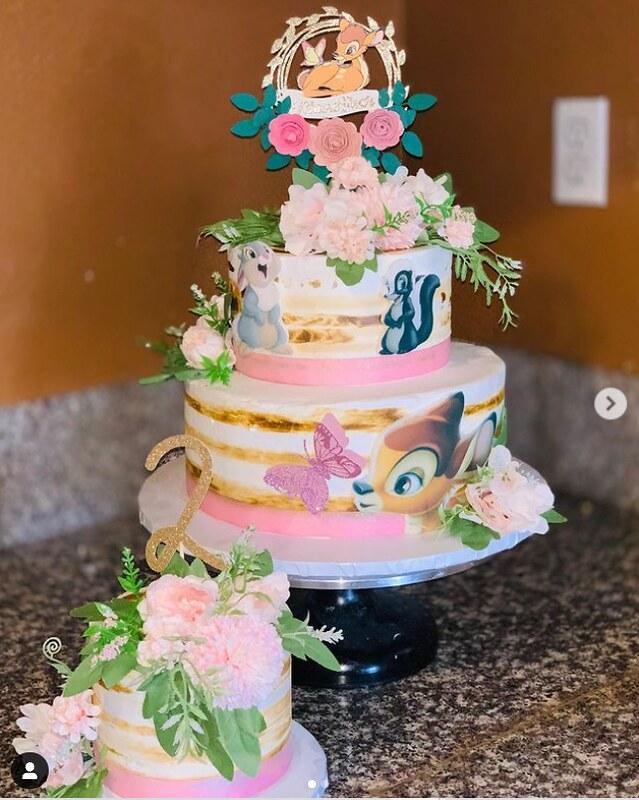 Cake by Janet Millan-Lopez