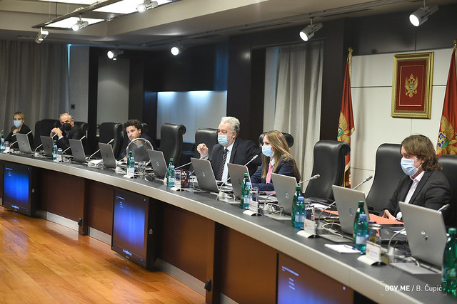 42. sjednica Vlade Crne Gore (07.10.2021.)