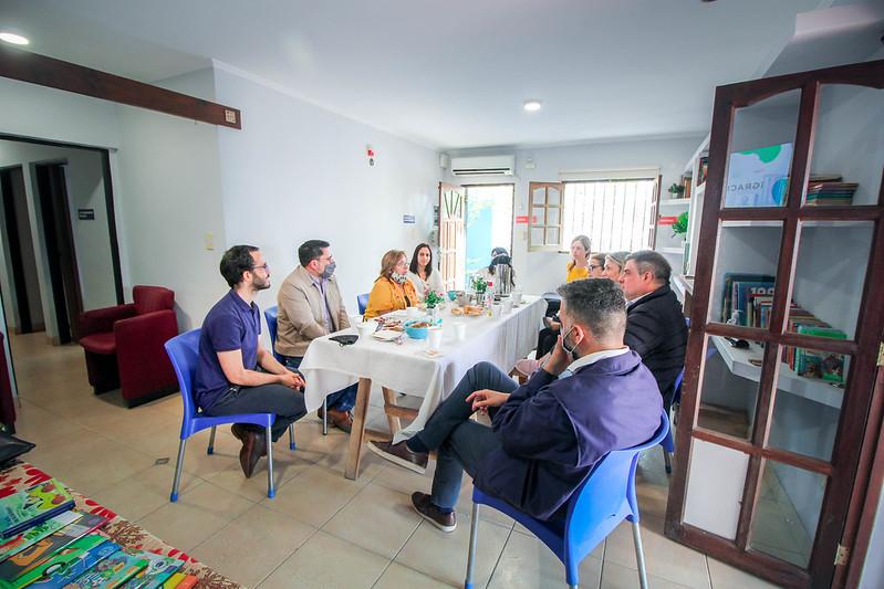 Desayuno HIPPY y reunión CIMIENTOS | OCT2021