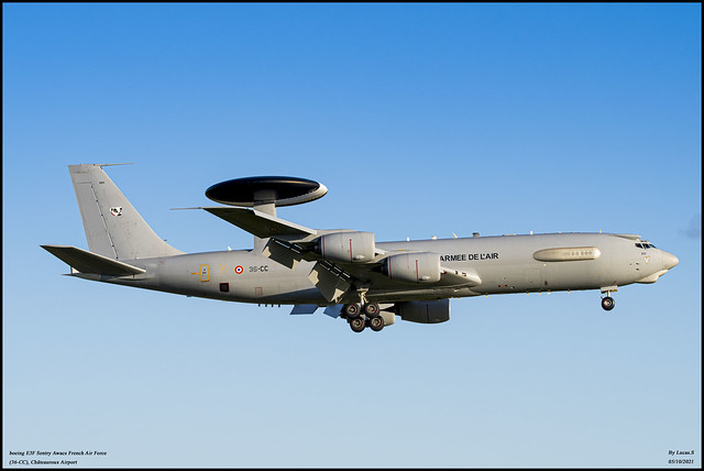 boeing E3F Sentry Awacs French Air Force (36-CC)