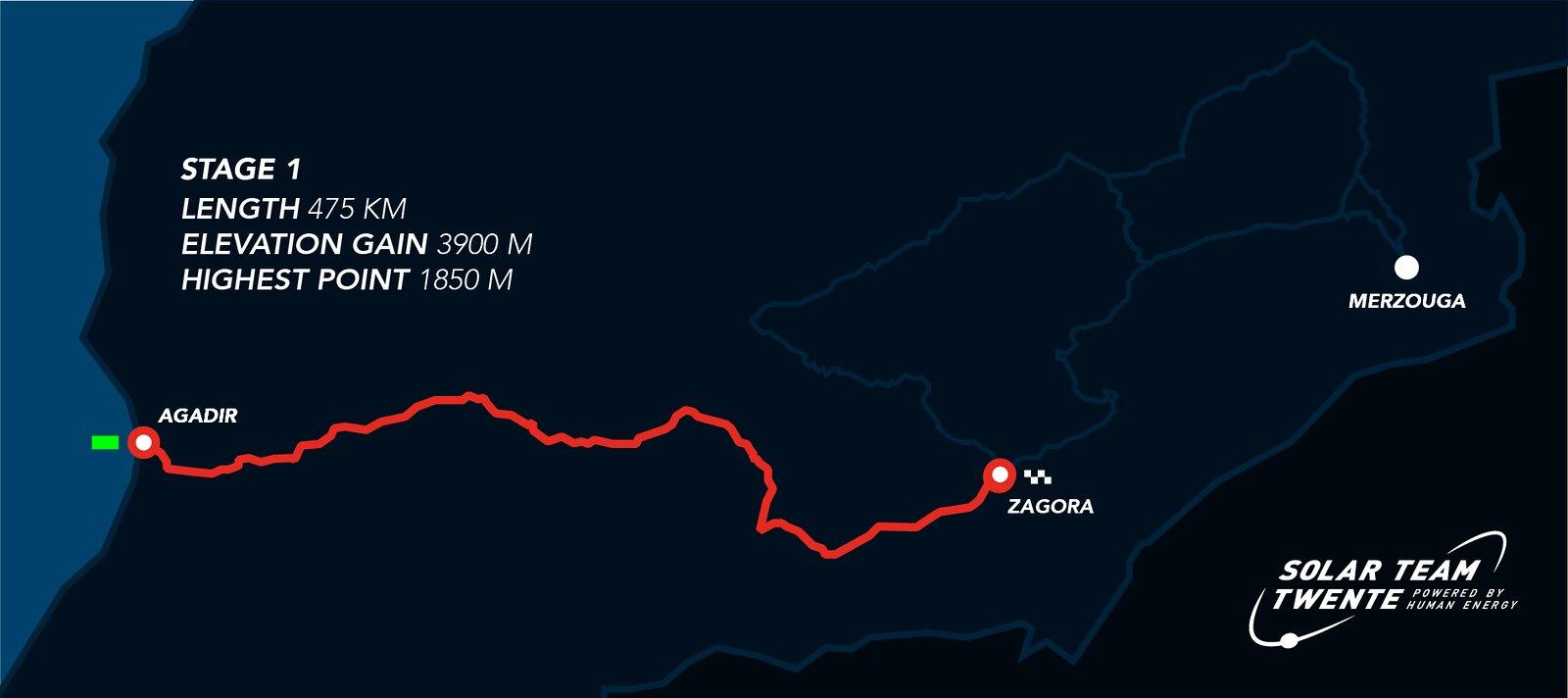 Race Day 1 - Solar Challenge Morocco 2021