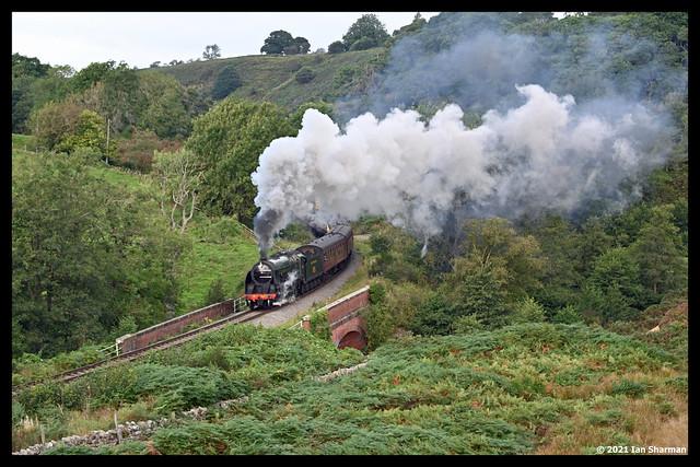 No 825 24th Sept 2021 North Yorkshire Moors Railway Steam Gala Darnholme