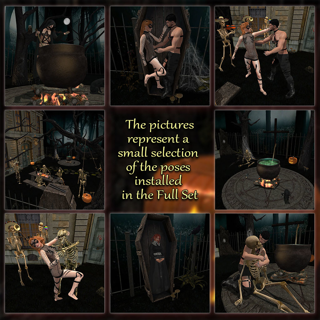Creepy Forest – Poses 2