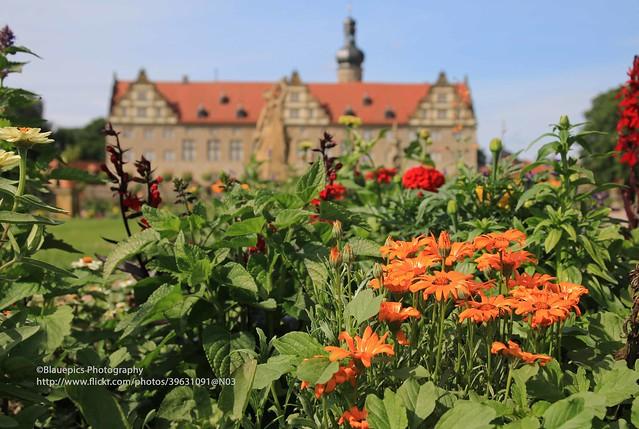Weikersheim, Weikersheim palace garden